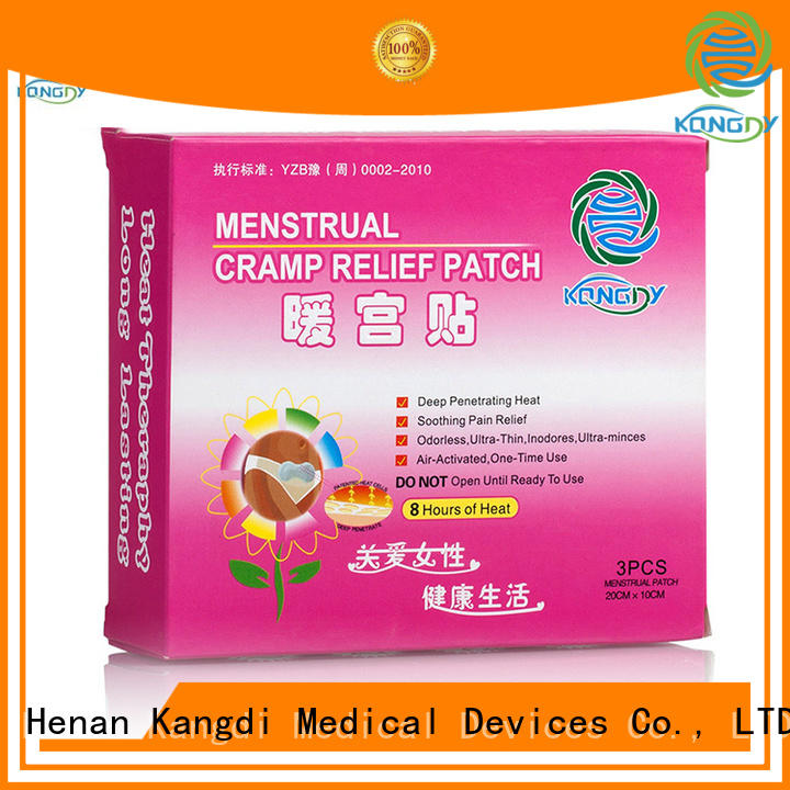 Kangdi Custom chinese heat patches company Healthy body