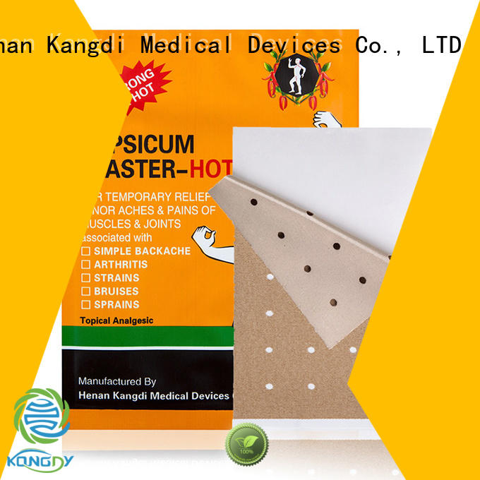 Top capsicum patch for business Medical Devices