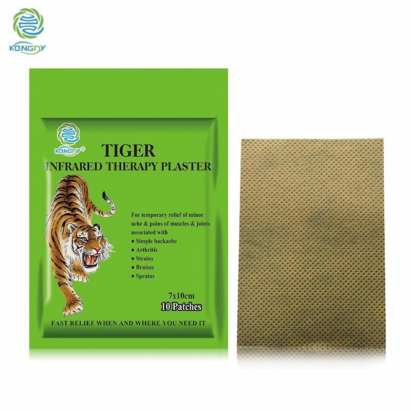 Tiger Balm Plaster Tiger Capsicum Plaster