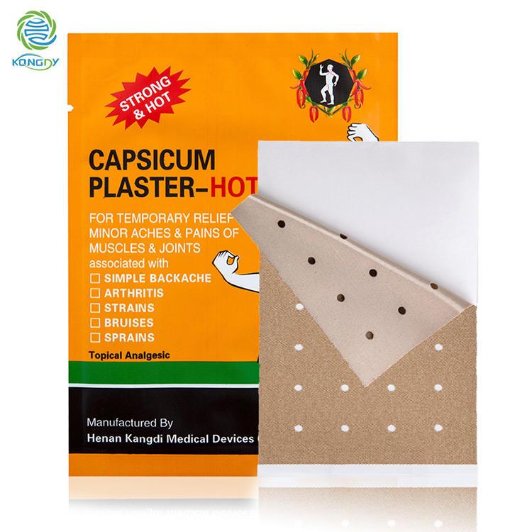 Tiger Capsicum Plaster Capsicum Plaster-Hot