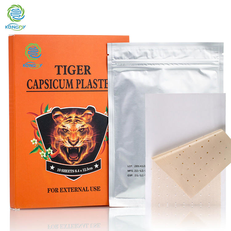 Tiger Capsicum Plaster Hot Salonpas Hot Patch