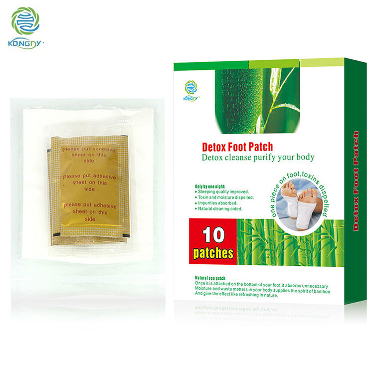 Bamboo Vinegar Detox Foot Patches