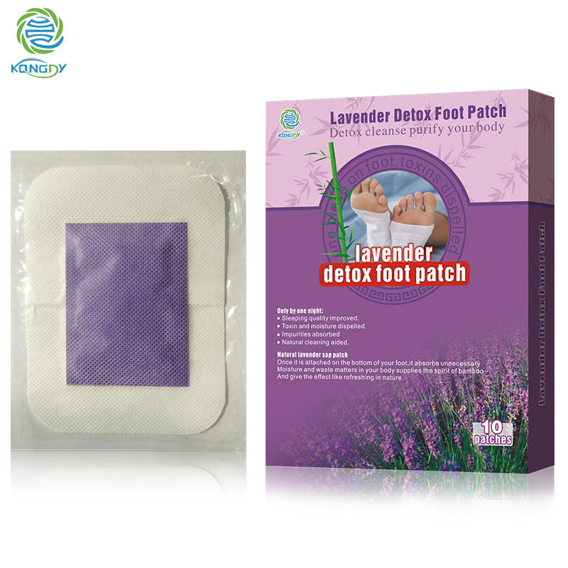 Lavender Detox Foot Patch Foot Toxin Removal