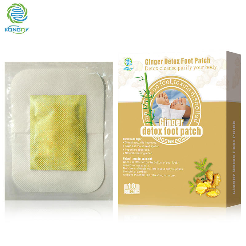 Ginger Detox Foot Patch Toxin Foot Pads
