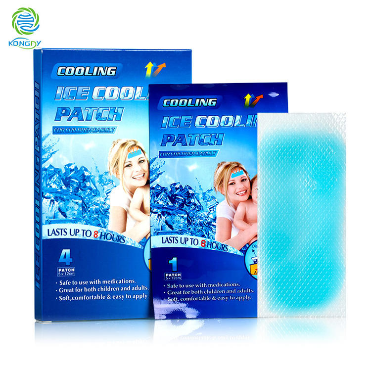 Cooling Gel Patch Fever Pad For Baby