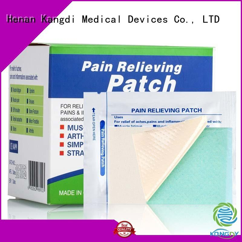 Custom pain relieving patch prescription Supply Body health care