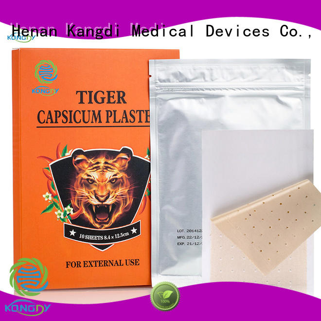 Custom capsicum plaster hot Supply Medical Devices