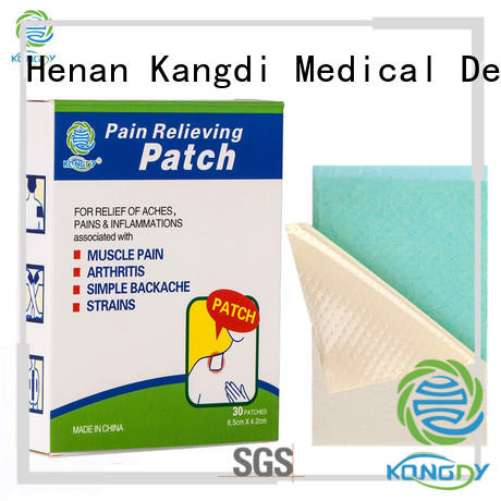 New medicated pain relief patches Supply health care