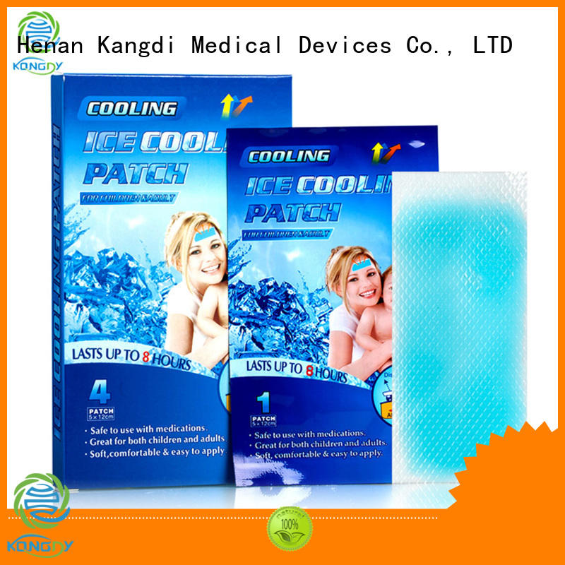 Kangdi forehead cooling strips company health care