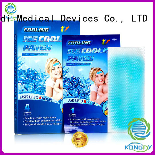 Kangdi forehead cooling pads manufacturers health care