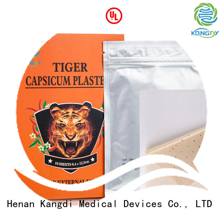 Wholesale tiger capsicum plaster factory Body health care