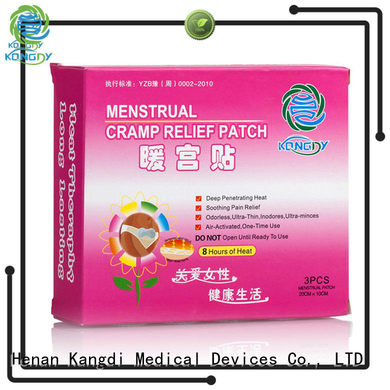 Kangdi best heat patches company health care