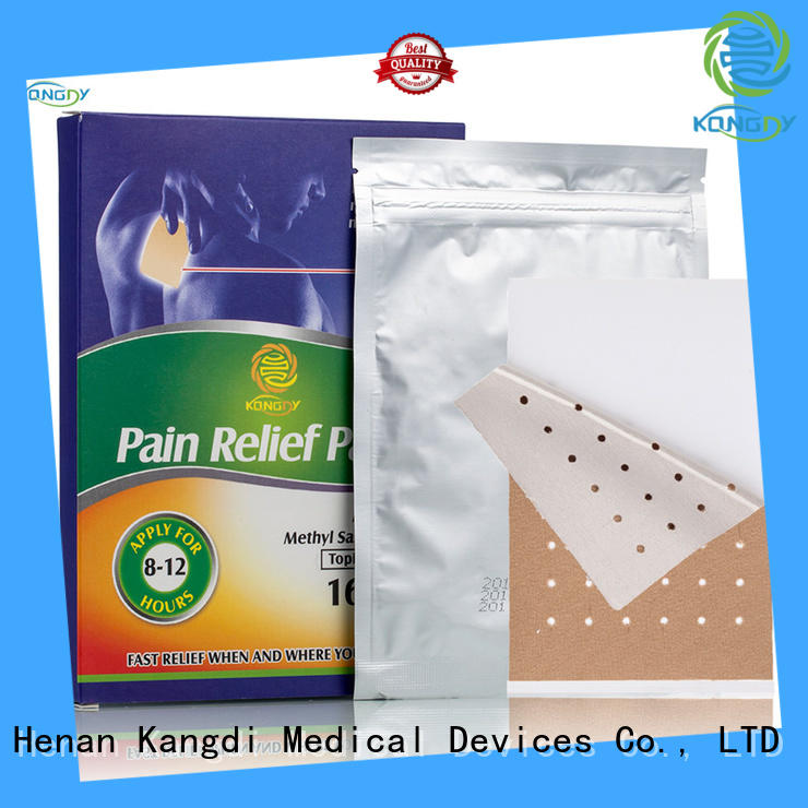 Kangdi Best transdermal pain patch Supply Medical Devices