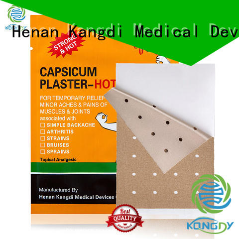 Kangdi Latest tiger capsicum plaster for business Medical Devices