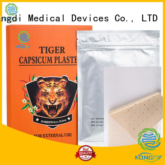 Kangdi Custom capsicum plaster hot factory Medical Devices