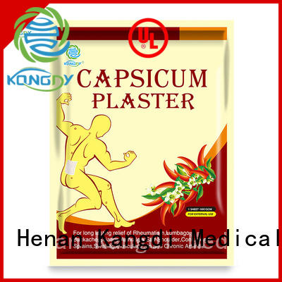 New porous capsicum plaster for business Healthy body
