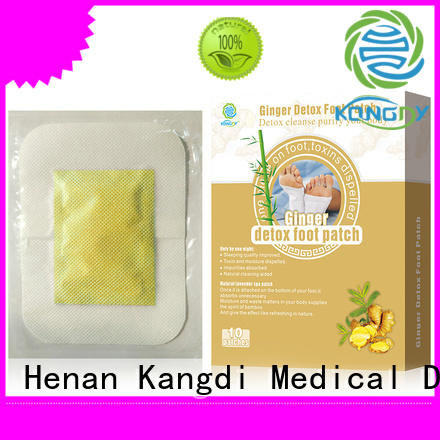 Kangdi detox foot patches factory Body health care