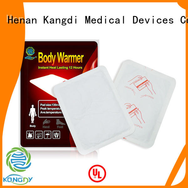 New heating pad patch for business health care