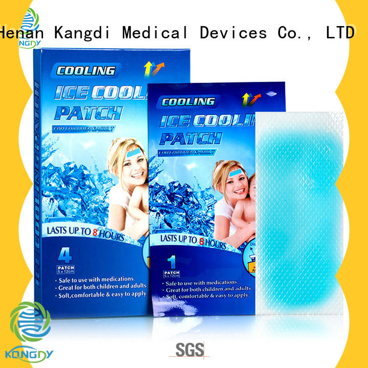 Kangdi Custom fever cooling pad company Body health care