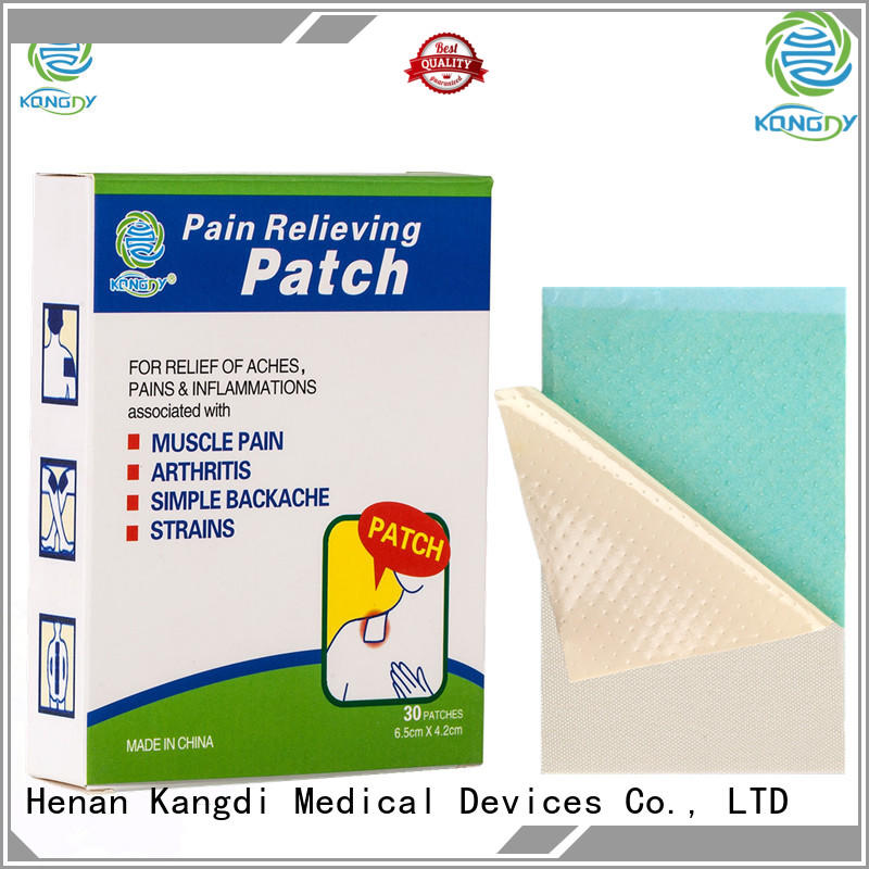 Kangdi Latest medicated pain relief patches manufacturers Body health care