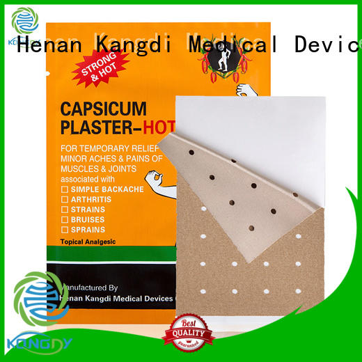 Custom tiger capsicum plaster for business Healthy body