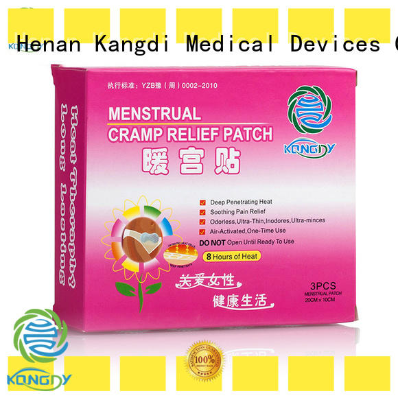 Kangdi Latest best heat patches Supply health care