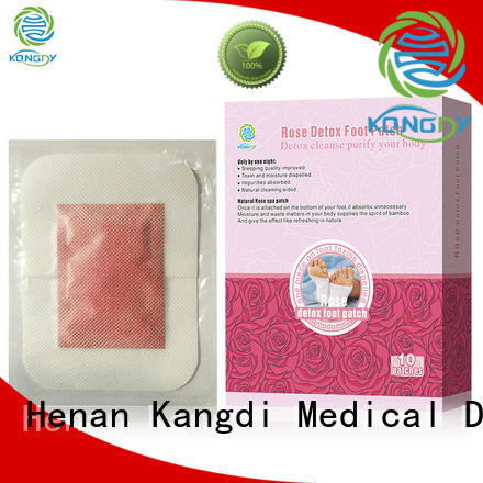Top detoxifying foot pads Supply Healthy body