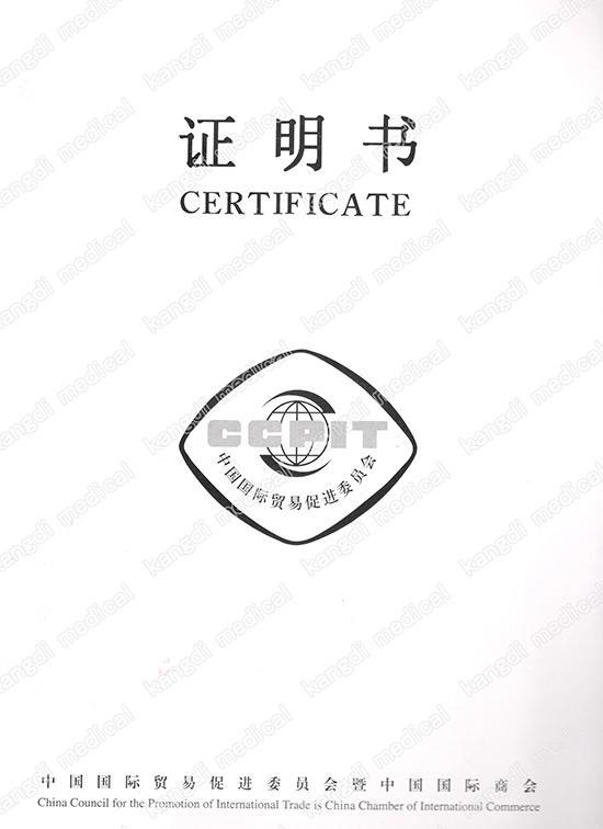 CCPIT certificate-1