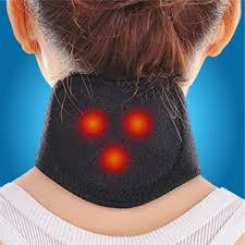 Self-heating neck brace