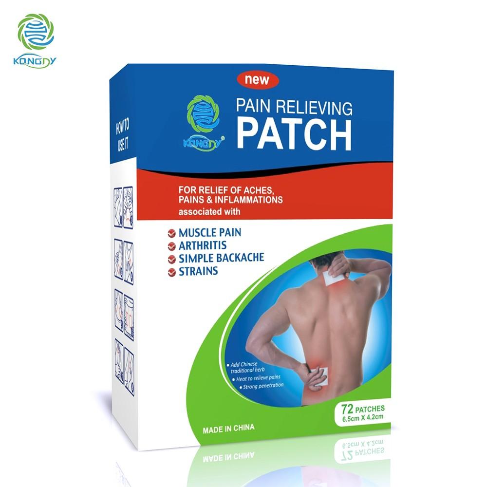 menthol pain patch