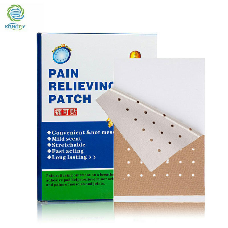 Wholesale Natural Herbs Best Muscle Pain Relief Patches for Low Back Pain