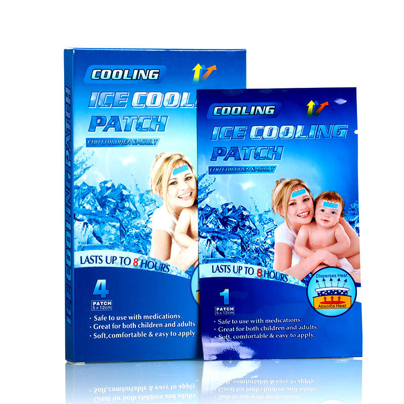 Custom Baby Headache Fever Cooling Gel Patch From OEM Factory