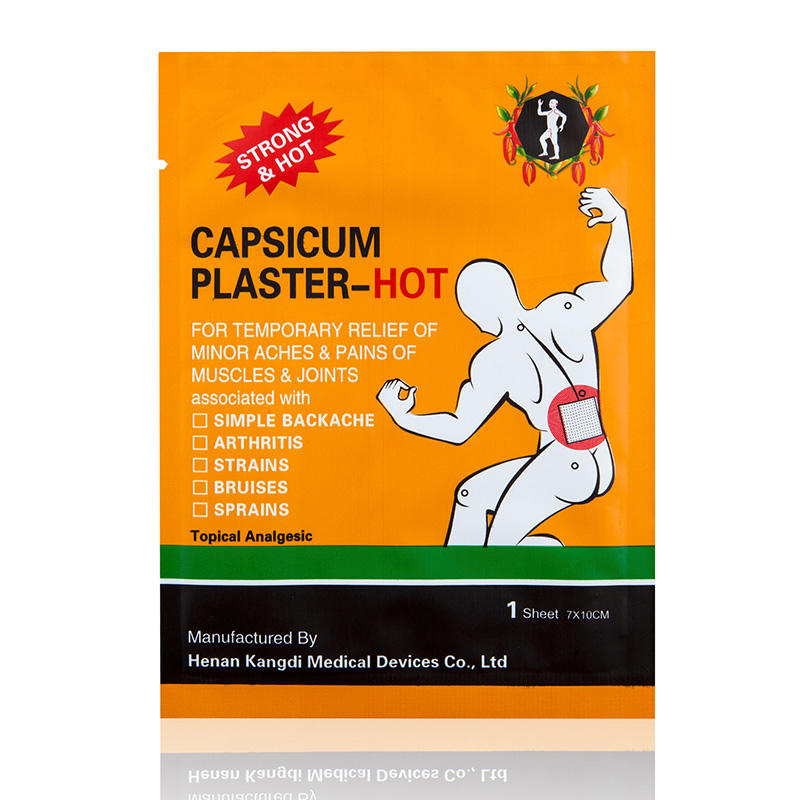 The principle of capsicum plaster