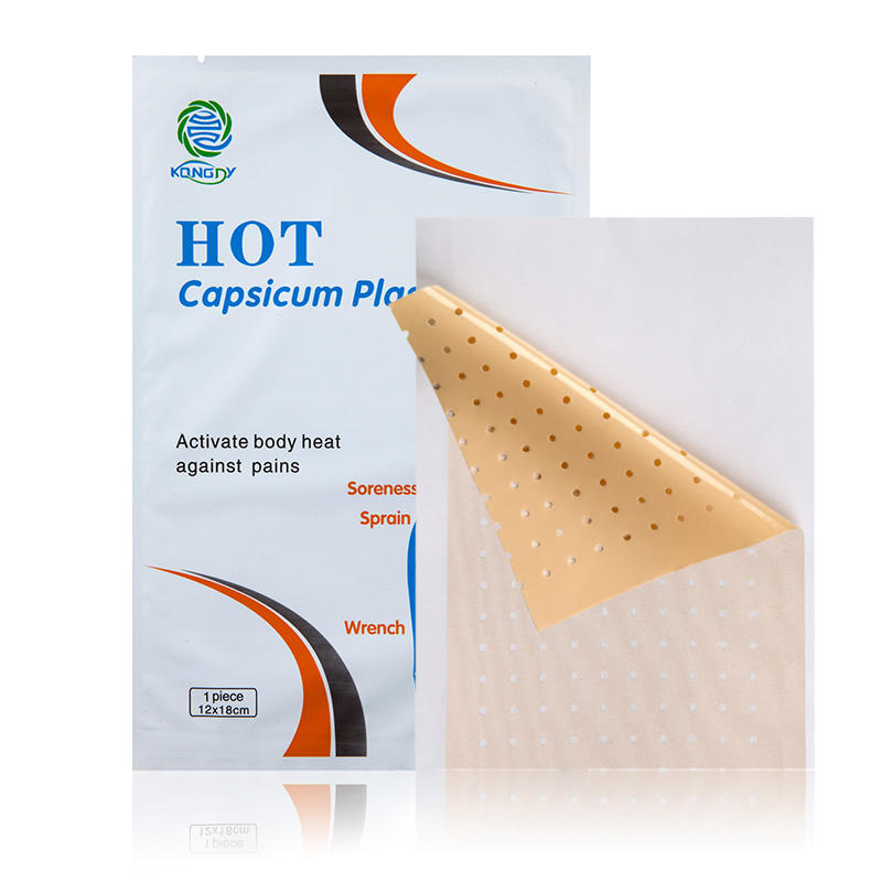 Natural Herbal Capsicum Plaster Muscle Pain Relief Patch Muscle Pain Plaster