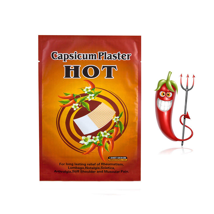 2021 hot sale Health Care medical pepper capsicum plaster for pain relief